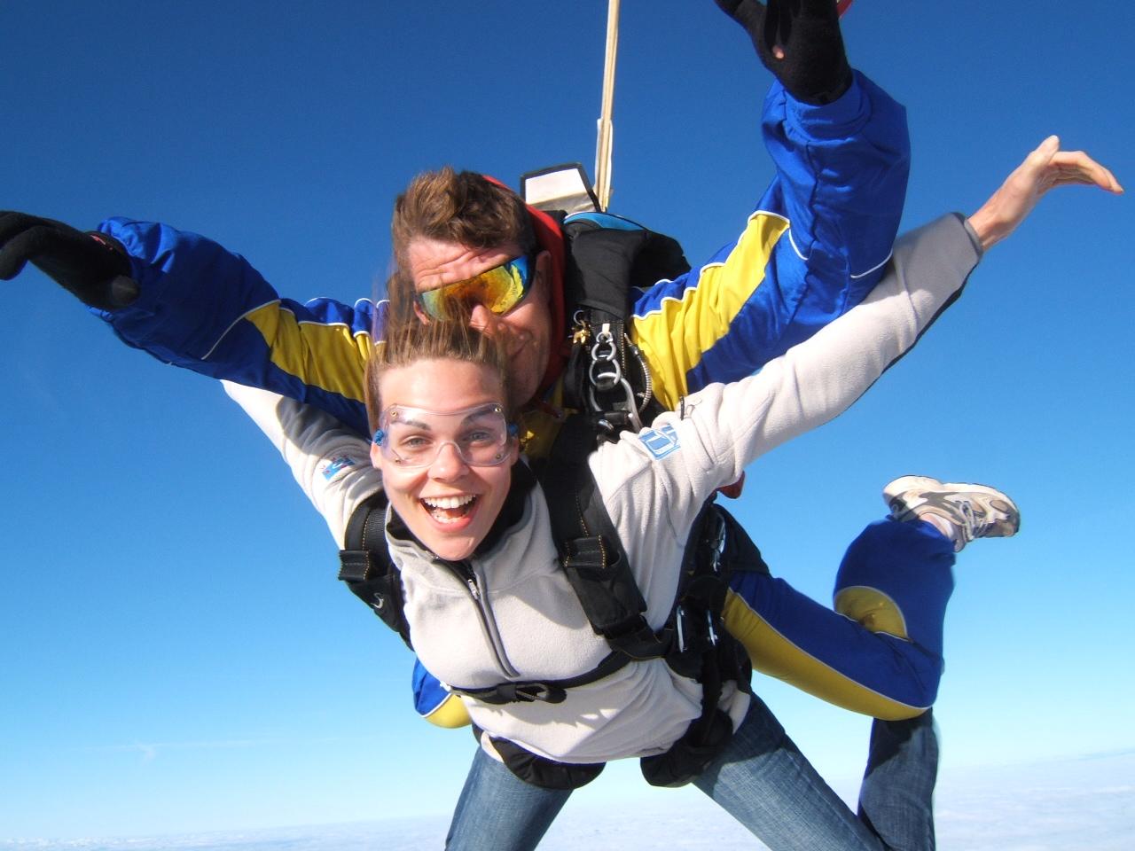 saut en parachute 2 personnes