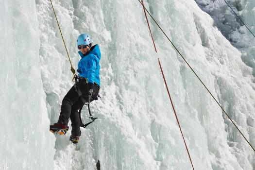 cascade de glace débutante