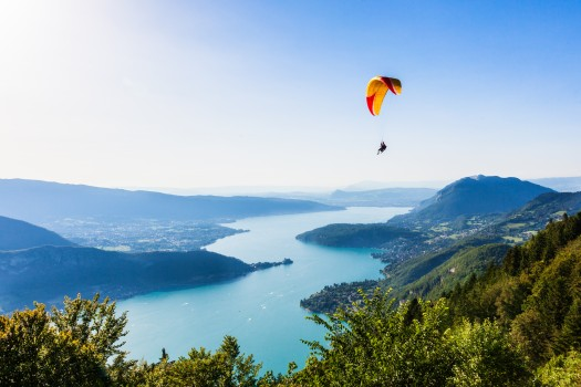 View of the Annecy lake from Col du Forclaz-Samuel Borges Photography
