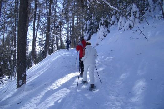 Week-end raquettes dans les Hautes-Alpes