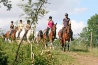 Week-end randonnée à cheval Lot et Garonne